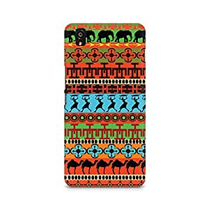 Mobicture Colorful Village Premium Printed Case For OnePlus X