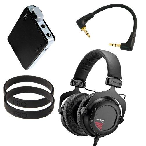 Beyerdynamic Custom One Pro (Black) With Fiio E11 Professional Headphone Bundle