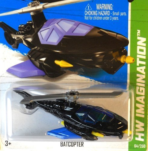 2013 Hot Wheels Hw Imagination - Batcopter