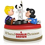 Hallmark QXI2389 50 Years of a Charlie Brown Christmas Ornament