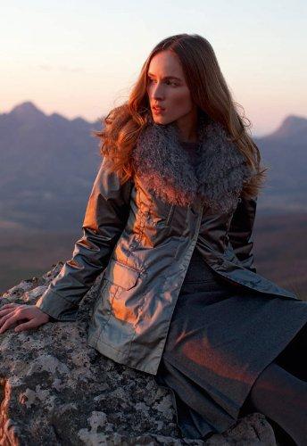 Bogner Sonia Bogner Fraya-DB Winterjacke mit Pelz Tibetlamm Gr. 36 Jacke kaufen