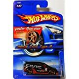 #2006 133 Honda Civic Type R Faster Than Ever Wheels Collectible Collector Car Mattel Hot Wheels 1:64 Scale