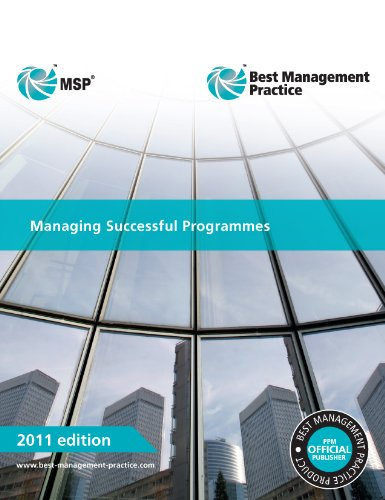Cabinet Office - Managing Successful Programmes 2011 Edition