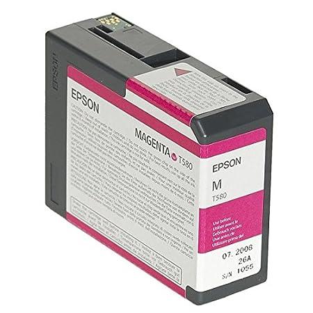 Epson T580A Cartouche d'encre d'origine Magenta