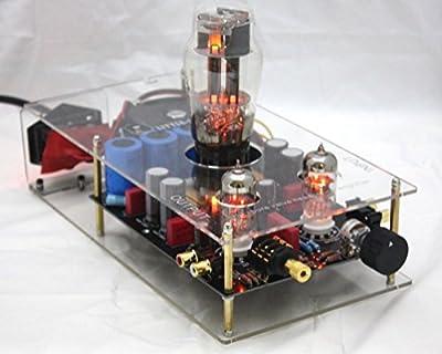 Nobsound®Little Bear clear 6N5P+6N3 Pre-AMP pure valve tube Headphone Amplifier HIFI DIY