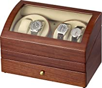 Auer Accessories Artemis 722SPA Watch Winder for 4 Watches Precious wood
