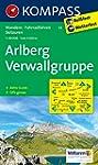 Arlberg - Verwallgruppe: Wanderkarte...