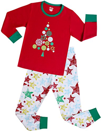 Girls Pajamas Children Christmas Gift Set Kids Sleepwear Size 4 Years