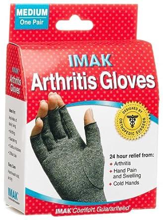 IMAK Arthritis Gloves Medium, 1-Pair Box