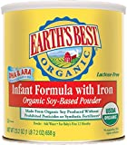 Earth's Best Organic, Soy Infant Formula with Iron, 23.2 Ounce