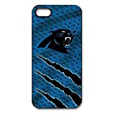 Treasure Design NFL Superbowl Carolina Panthers Team Logo APPLE IPHONE 5 Best Durable Case at Amazon.com