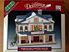 Lemax Village Collection - Dickensvale - #55148 - Mansfield Grocery - Porcelain Lighted House