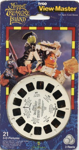 Muppet-Treasure-Island-View-Master-3-Reel-Set-21-3d-images