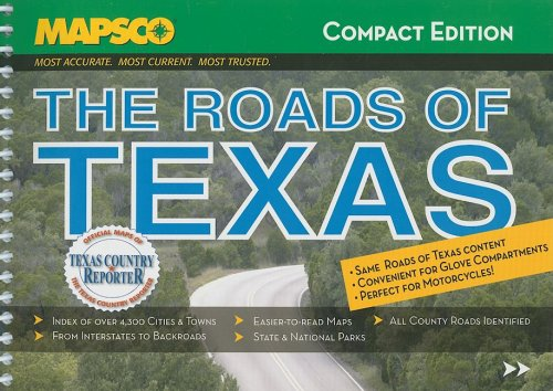 The Roads of Texas (MAPSCO Compact)