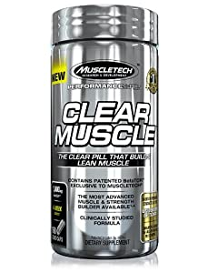 MuscleTech Clear Muscle Capsules - Pack of 168
