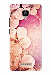 Noise Designer Printed Case / Cover for Lava A48 / Nature / Romantic Flowers Design