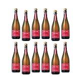 【2016年売上ランキングTOP10 スパークリングワイン】ピノ ロゼ NV年 ロゼスパークリング  辛口 イタリア ピエモンテ [750ml×12本セット]
