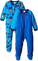 Gerber Baby and Little Boys' 2 Pack Blanket Sleepers