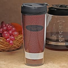 Buy NCAA Mississippi Rebels Pigskin Travel Tumbler, 20-Ounce by Northwest
