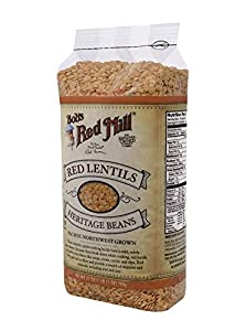 Bob's Red Mill Red Lentils, 27-Ounce Units (Pack of 4)