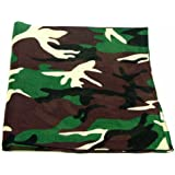 "Novelty Bandanas By The Dozen 100% Cotton 12-Pack 22"" x 22"""