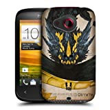 Head Case Designs Wyvern Dragons Protective Snap-on Hard Back Case Cover for HTC Desire C