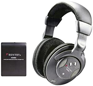 Sentry HO900 Wireless Headphones (Discontinued by Manufacturer)