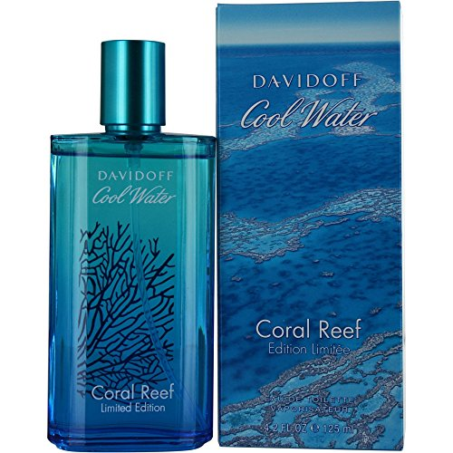 Davidoff Cool Water Coral Reef Eau De Toilette Spray, 4.2