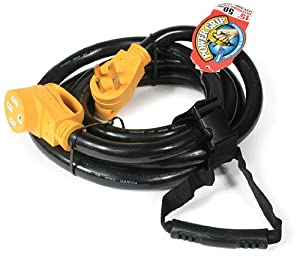 Camco 55194 50 AMP 15' PowerGrip Extension Cord