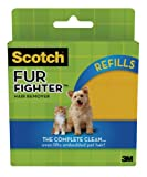 3M Scotch Fur Fighter 849RF-8 Hair Remover Refill, 8-Sheet