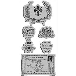 Hampton Art Graphic 45 French Country 3 Cling Stamp by Hampton Art Inc