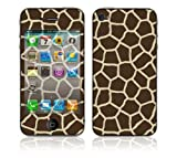 DecalSkin Apple iPhone 4 Skin Cover - Giraffe Print