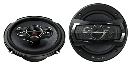 Pioneer TS-A1685R 350 Watts 4-Way Car Speakers, 6 1/2 Inch - 6 3/4 Inch