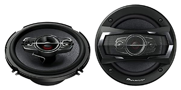 Pioneer TS-A1685R Car Speaker - 1 Pair (6 1/2- 6 3/4 Inch) 350w max 4 Way Voies