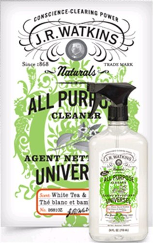 J.R. Watkins Cleaner, All Purpose, White Tea And Bamboo, 24 Fluid Ounce