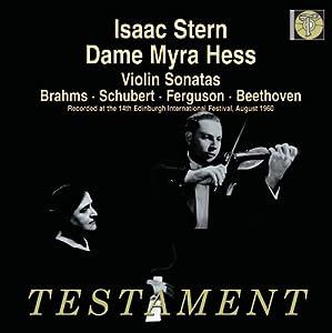 Violin Sonatas (Isaac Stern, Myra Hess)