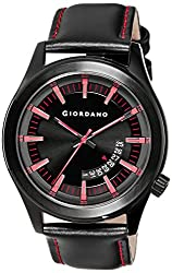 Giordano Analog Black Dial Mens Watch - 1671-05