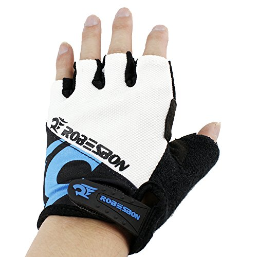 Ezyoutdoor Riding Gloves Handwear Winter Breathable Unisex Reflex Bike Half Finger Glove for Outdoor Riding Cycling Motorcycle Skiing Outside Sports