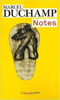 Notes par Duchamp