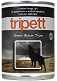 Tripett Green Bison Tripe Canned Dog Food 13 oz. can (12 in case)