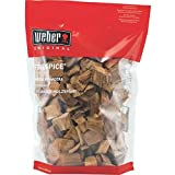 Weber 17004 Apple Wood Chips, 3-Pound