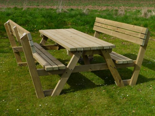 Shop For Garden Furniture In Uk Picnic Table With Back