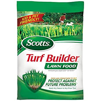 Scotts Turf Builder Lawn Food, 5,000-sq ft (Lawn Fertilizer)