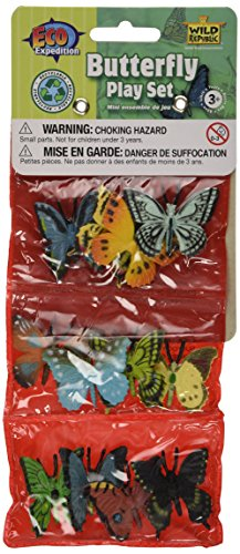 12 Piece Butterfly Playset