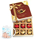 Lovely Treat Of Chocolates Gift Box With Friendship Mug - Chocholik Belgium Chocolates