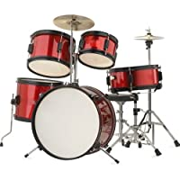 Rocket Tim J 5 Piece Junior Drum Kit - Red from Rocket
