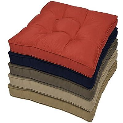 Outdoor Loungekissen Rückenkissen - versch. Farben und Größen von Beautissu auf Gartenmöbel von Du und Dein Garten