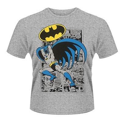 Batman Logo Pose DC Originals Maglietta grigio ufficiale Autorizzato