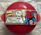 Marvel Comics The Amazing Spider-Man- 7 piece Breakfast Set