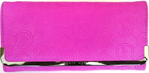 Star Leather SL065 Designer Branded Ladies Clutch Wallet Bag Purse
